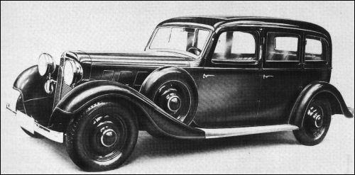 1934 Adler diplomat Ambi Budd