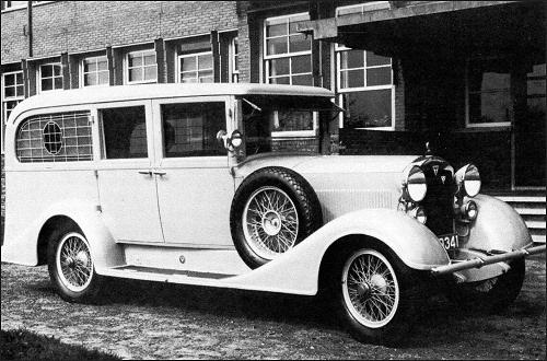 1934 adler standard 8 ambulance