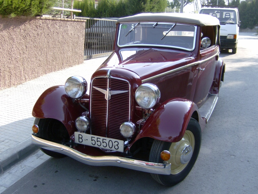 1934 Adler Trumpf 1.7 Liter Karman