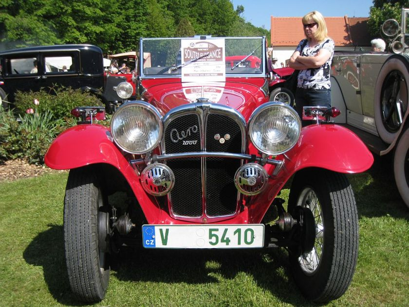 1934 Aero 1000 Overdrive, Československo d