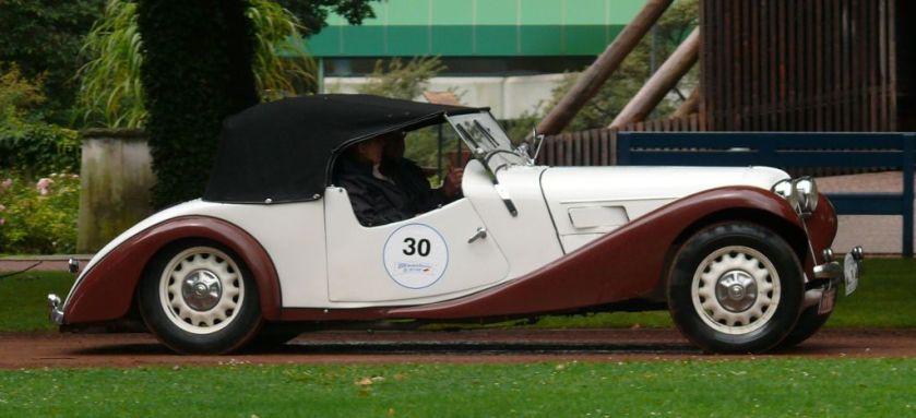 1934 Aero 30 Roadster bicolor r
