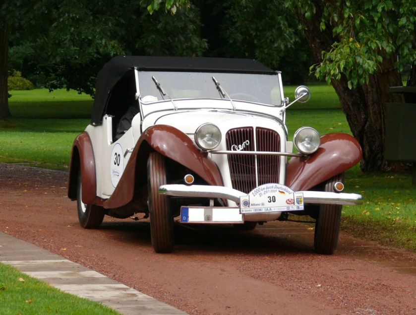 1934 Aero 30 Roadster bicolor vr