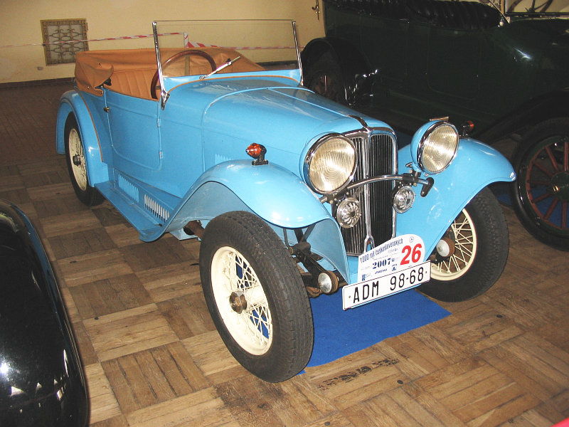 1934 Aero 662, Československo 1934 (1931-1934) bl c