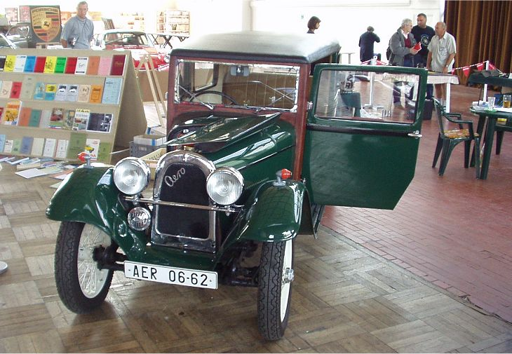 1934 Aero 662 Limousine, Československo (1931-1934)