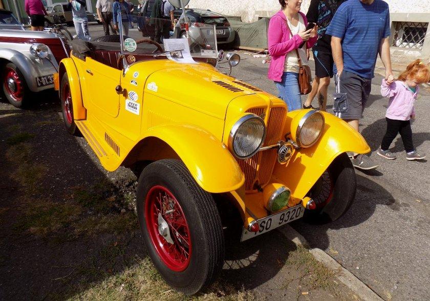 1934 Aero 662 Sport 1000, Československo a