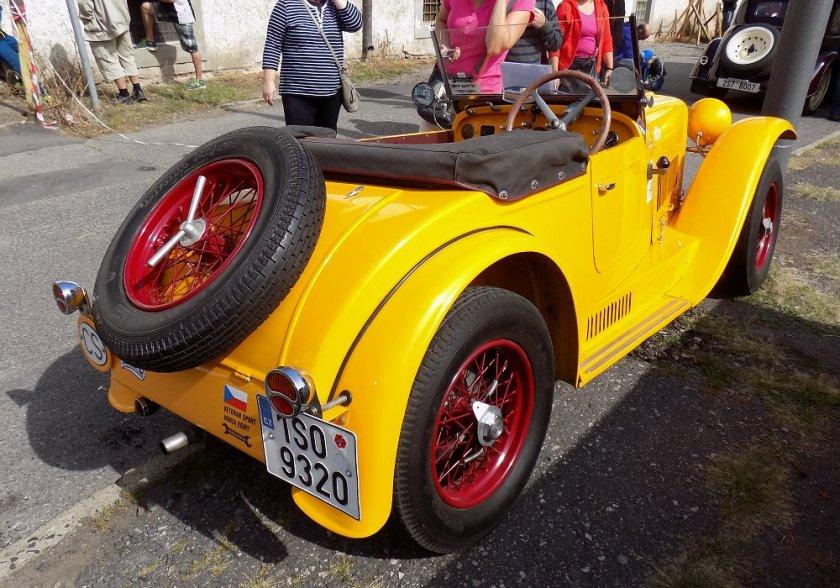 1934 Aero 662 Sport 1000, Československo e