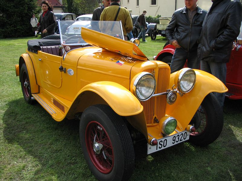 1934 Aero 662 Sport 1000, Československo g