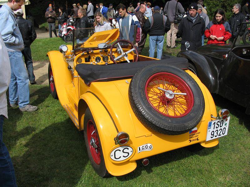 1934 Aero 662 Sport 1000, Československo h