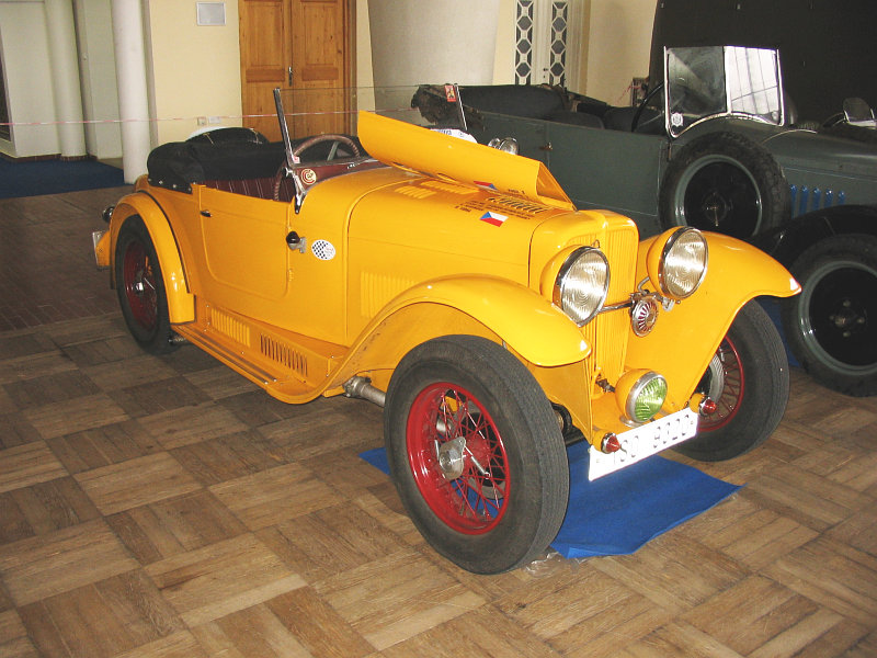1934 Aero 662 Sport 1000, Československo j