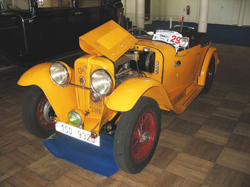 1934 Aero 662 Sport 1000, Československo k