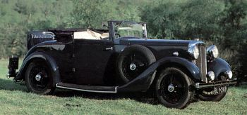 1934 Daimler 15 drophead coupe