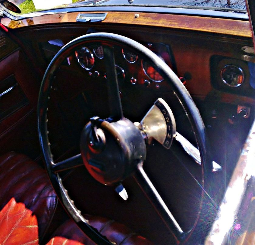 1934 Daimler Fifteen Interior