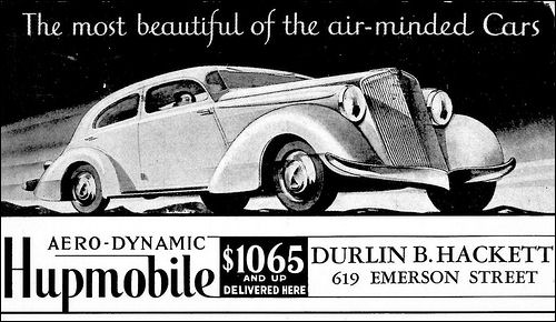 1934 Hupmobile Aero-Dynamic