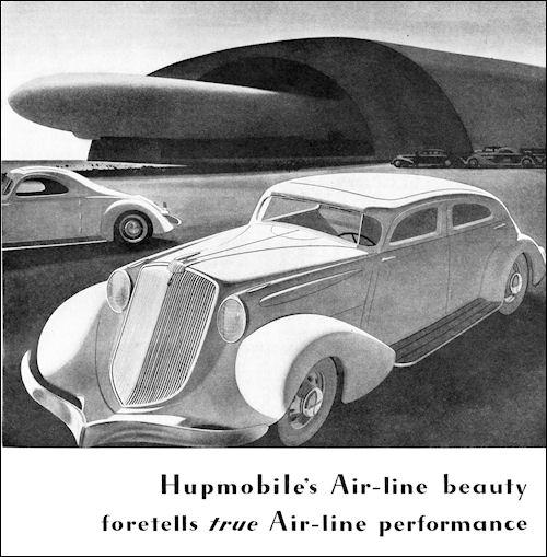 1934 Hupmobile AeroLine