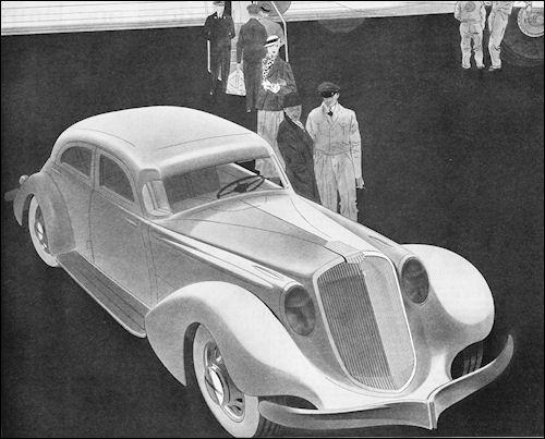 1934 Hupmobile Sedan