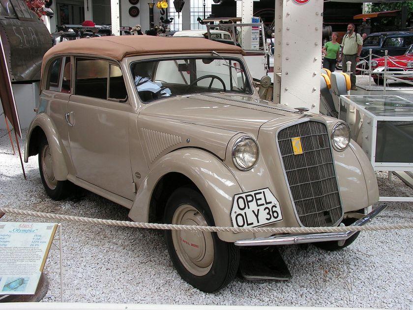 1935-37 Opel Olympia