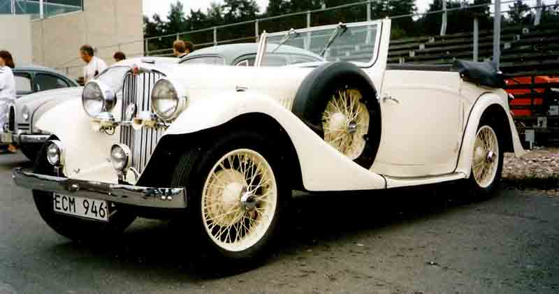 1935 AC 16-70 Sports Drophead Coupé