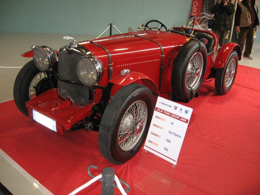 1935 AC 2000 Sport-Special