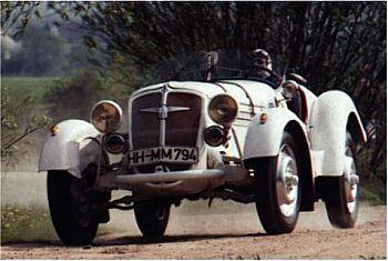 1935 Adler SPORT 6