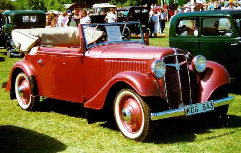 1935 Adler Trumpf Cabriolet