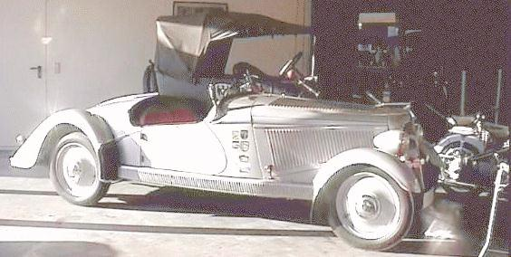 1935 Adler Trumpf-Junior Sport