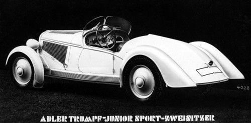 1935 Adler trumpf junior sport