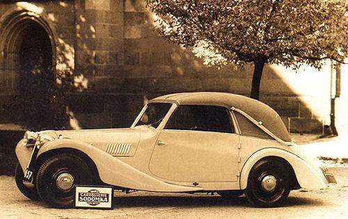 1935 Aero 30 by Sodomka