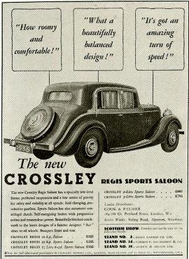 1935 Crossley Regis ad a