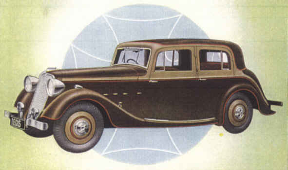 1935 Crossley Regis ad