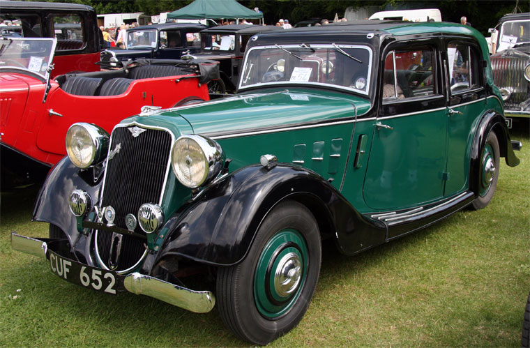 1935 Crossley Regis