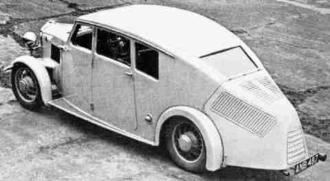 1935 Crossley streamline