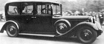 1935 Daimler royal double six