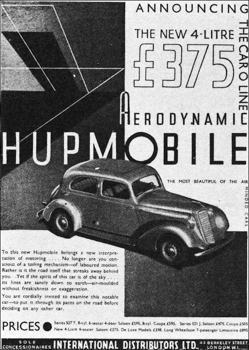 1935 hupmobile 518-d sedan