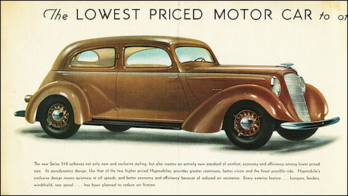 1935 Hupmobile Series 518 Sedan