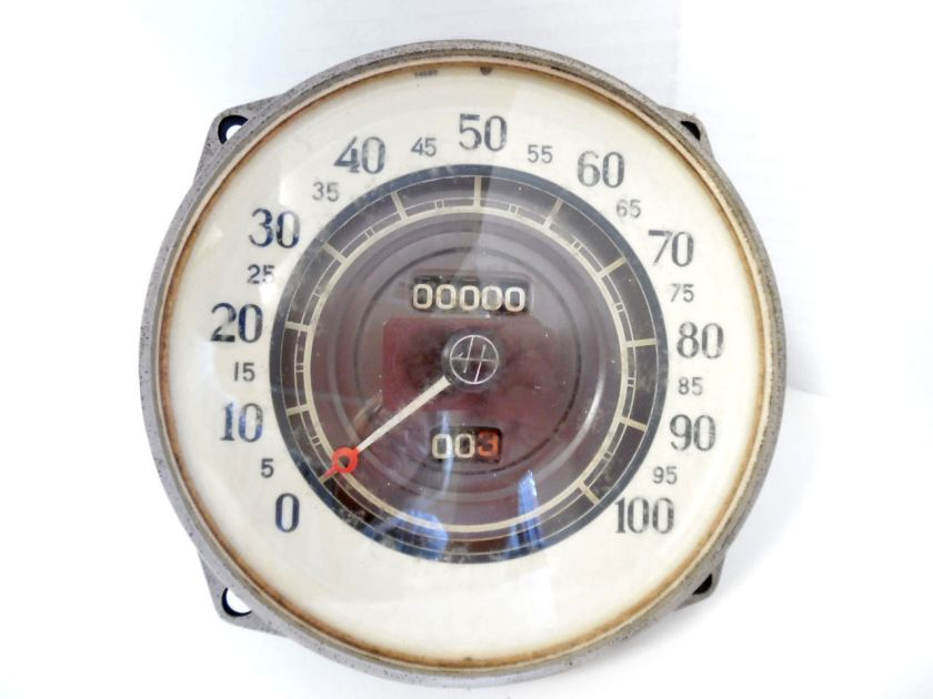 1935 Hupmobile Stewart Warner Speedometer Speedo Assembly NOS