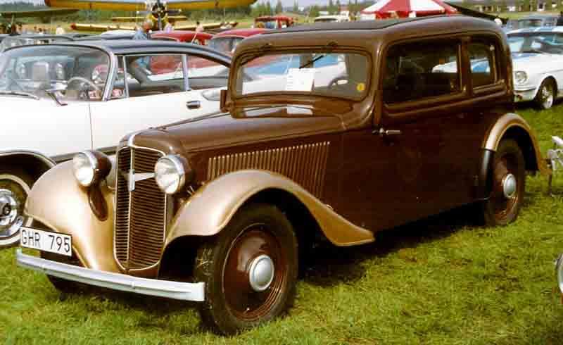 1936 Adler Trumpf Junior Limousine