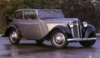 1936 Adler trumph jun