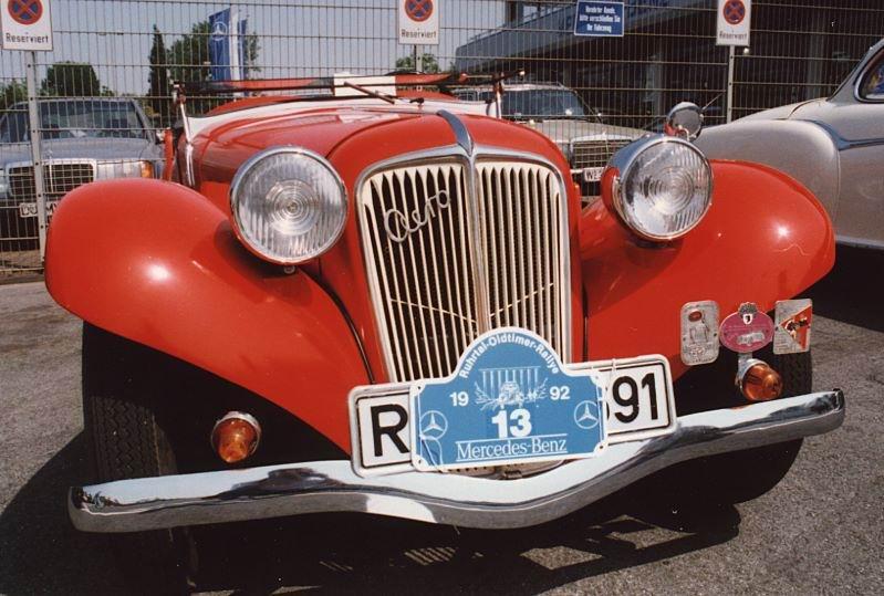 1936 Aero 30 HP Roadster 1936