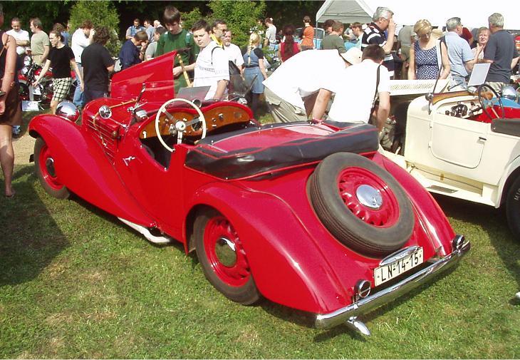 1936 Aero 50 Roadster, Československo (1936-1938) b