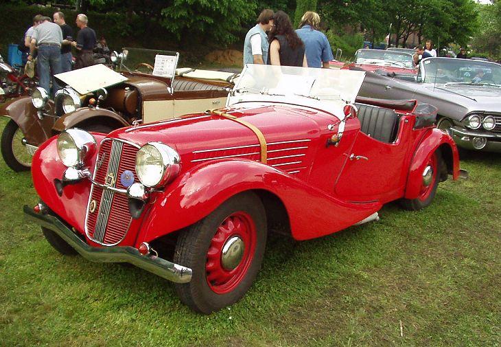 1936 Aero 50 Roadster, Československo (1936-1938) d