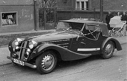1936 Aero 50 Roadster, Československo (1936-1938) g