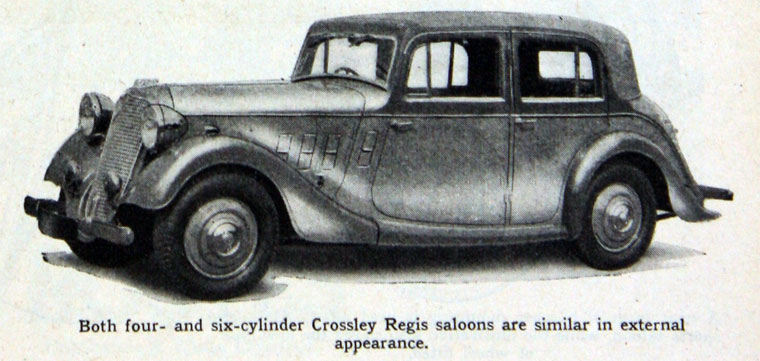1936 Crossley Regis Saloon A-Cross4