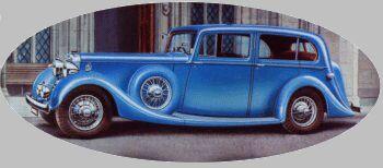 1936 Daimler light straight8