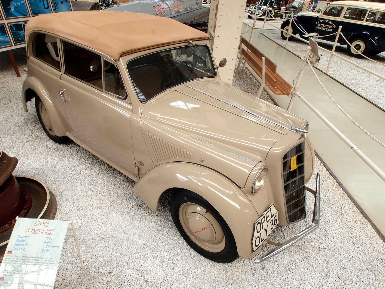 1936 Opel kadett 1936 Opel Olympia 2