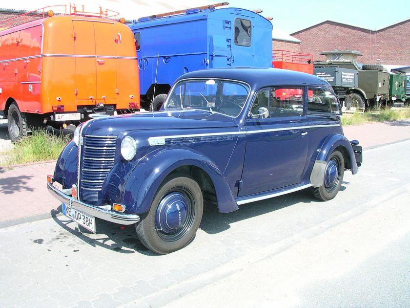 1937-39 1945-47 Opel Olympia OL38