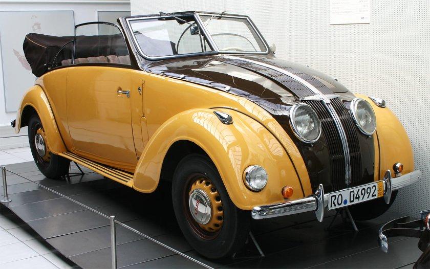 1937-39 Adler-2-5-liter-cabriolet-1 125km-h 58PS