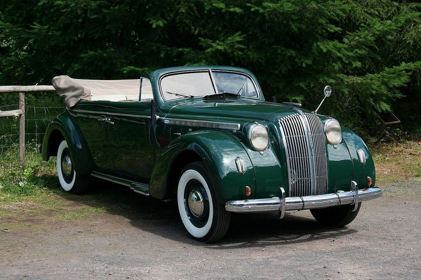 1937-39 Opel Admiral convertible