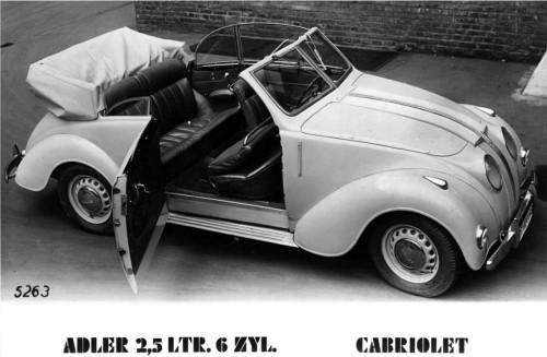 1937 Adler 10 KARMANN 6