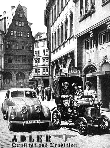 1937 Adler 2,5 liter