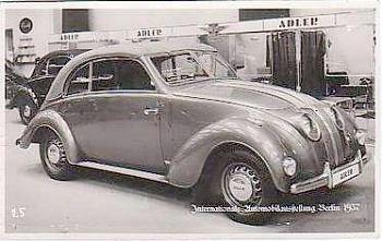 1937 Adler IAABerlin Baydekarte